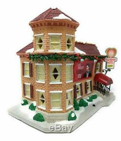 Elvis Presley Heartbreak Hotel Christmas Village LED Musical Porcelain Building
