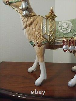 Fitz & Floyd Gregorian Christmas Reindeer 17 x 15