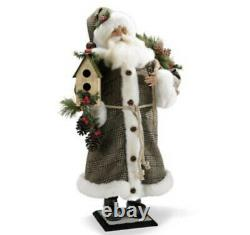 Frontgate 28 Santa With Birdhouse Sold Out Christmas NOS New W tags