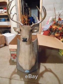 Gemmy Buck Talking Singing Animated Deer