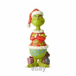 GRINCH 20 BIG STATUE Santa Hat, Arms Folded Figure Jim Shore NEW 2021 Christmas