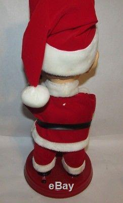 Gemmy Bing Crosby Animated Christmas Santa Doll Pop Culture Figure Mouth moves