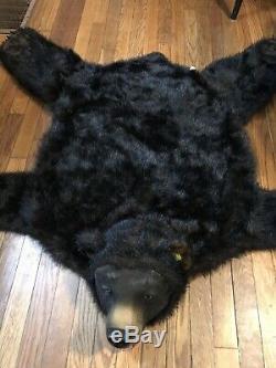 Gemmy Bud THE TALKING BEAR - BEAR SKIN RUG Animated Motion