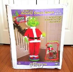 Gemmy How The Grinch Stole Christmas Animated Singing Figure 5 Ft Tall 2004