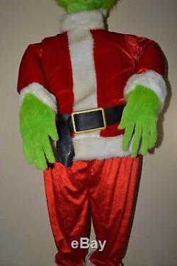 Gemmy LIFE SIZE 5' Animated Singing Dancing GRINCH Local Pickup Only TAMPA FL