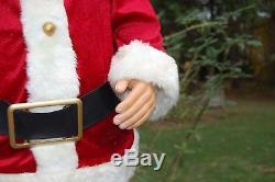 Gemmy Life Size/50 Dancing Singing Animated Santa Claus