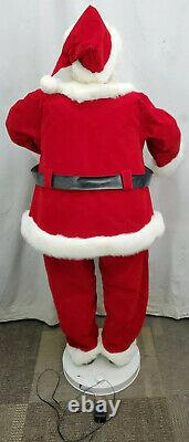 Gemmy Life Size Santa Claus 5 Foot Animated Singing and Dancing Christmas Decor