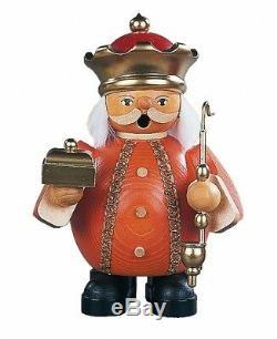 German incense smoker Melchior, Three Wise Man, height 14 cm / 6. MU 16082 NEW