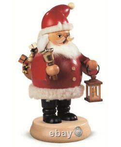 German incense smoker Santa Claus, height 20 cm / 8 inch, origina. MU 16132 NEW