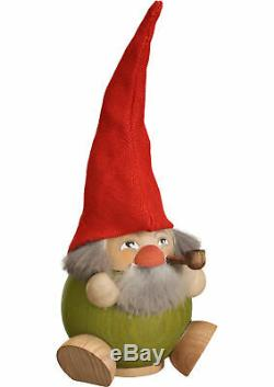 German incense smoker forest dwarf thyme, height 19 cm / 8 inch. SV 19039 NEW