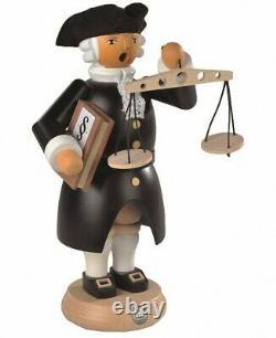 German incense smoker judge, colonial edition, height 27 cm / 11. MU 16260 NEW