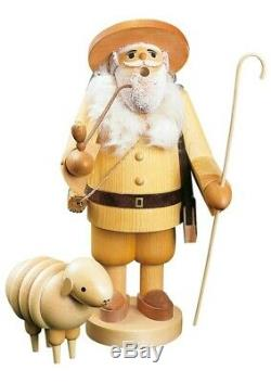 German incense smoker shepherd, height 34 cm / 13 inch, original. RG 39004 NEW