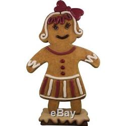 Ginger Bread Cookie Mama Life Size Statue Christmas Decor Movie Props Figurines