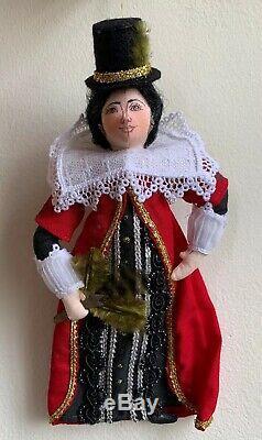 Gladys Boalt Christmas Ornament Historical Figure Pocahontas Rare