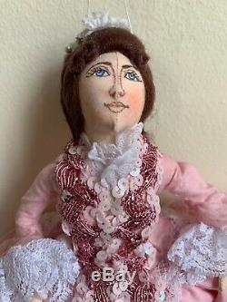 Gladys Boalt Christmas Ornament Storybook Character Beauty Beauty and The Beast