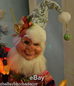 Gum Drop Elf 18 inch Medium Mark Roberts Christmas roch 51-68212 NEW