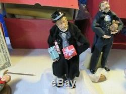 Hallmark Collection Christmas Carol set 4 Ebenezer Scrooge Figurine Original Box