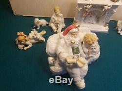 Heritage Mint LTD 11 Piece Porcelain Christmas Setting Set MINT CONDITION