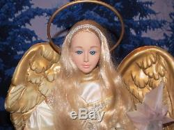 Holiday Living Animated Illuminated Christmas Angel Large 25 Holiday Display