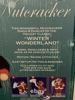 Huge 50 Animated Singing Dancing Nutcracker Christmas Decor Pan Asian Creations
