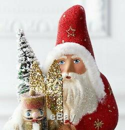 Ino Schaller 2019 Red Santa with Bag of Toys