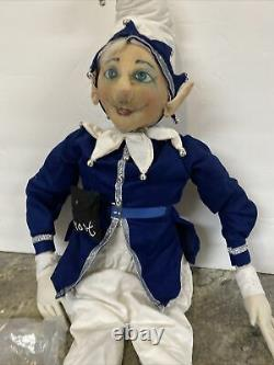 Jack Frost 38 Joe Spencer Gathered Traditions Christmas LARGE Doll NEW