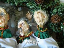 Jacqueline Kent Christmas Wreath Rare Hand Crafted