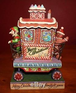 Jim Shore, Candy Cane Caboose figurine, # 4025632, 2011