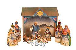 Jim Shore Heartwood Creek-Nativity Holy Family