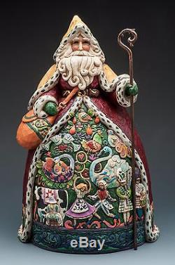 Jim Shore Holiday Figurines NIB 12 Days of Christmas Santa