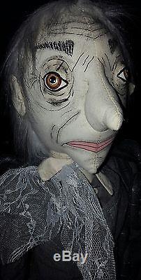 Joe Spencer JACOB MARLEY Fabric Christmas Ghost