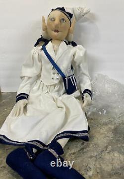 Julie Frost 38 Joe Spencer Gathered Traditions Christmas LARGE Doll