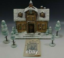 Kathe Wohlfahrt Kindertraum School House Christmas And Trees L. E 3/60 Rare