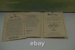 Kathe Wohlfahrt Zertifikat Polychrome Base Wood Display L. E 83/100 Rare