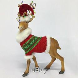 Katherine's 2020 Collection Snowday Deer With Sweater