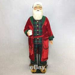 Katherine's 2020 Collection Toyland Santa In Pj's Life Size