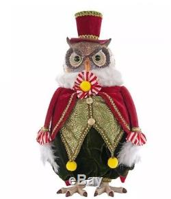 Katherine's Collection 13 Noel Tabletop Owl New 18-644006
