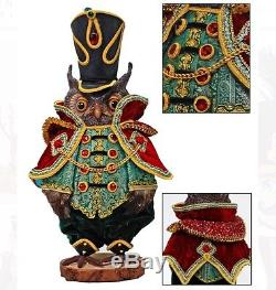 Katherine's Collection 18 Edwin Hoots Imperial Guardsman Christmas Owl New