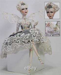 Katherine's Collection 23 Sitting Fairy Doll 2014 NIB