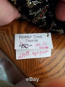 Katherine's Collection 24 Retired Father Time Christmas Doll