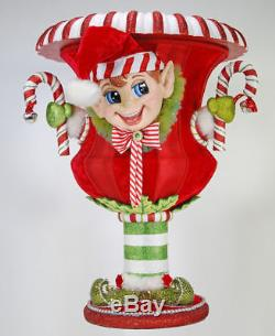 Katherine's Collection 27 Large Elf Doll Christmas Tree Vessel New In Box