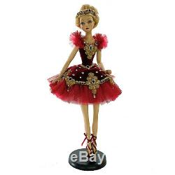 Katherine's Collection 28 Gifts of Christmas Fairy Ballet Dancer Doll Decor
