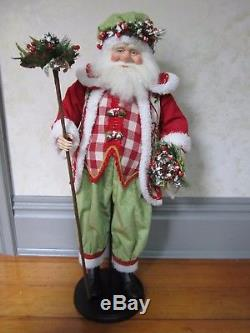 Katherine's Collection 32 Cold Winter's Night Santa Claus Doll RARE Prototype