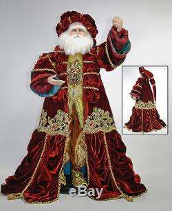 Katherine's Collection 32 Nativity Christmas Santa Claus Doll New In Box