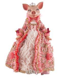 Katherine's Collection Bella Rose Pig 26 Cinderella Figurine 28-6280650
