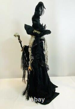 Katherine's Collection Halloween Krooked Kingdom Wizard Doll 30