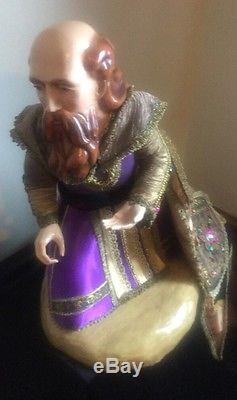 Katherine's Collection Kleski Retired 24 3 Of 3 Wise Men Christmas Doll Display