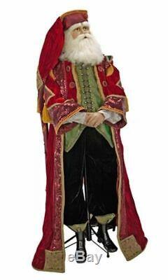 Katherine's Collection Life Size Nutcracker Santa Doll 11-611015 $1899.99