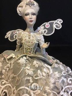 Katherine's Collection Retired 23 Sitting Fairy Doll