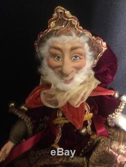 Katherine's Collection Wayne Kleski 17 Lanky Leg Christmas Elf Doll